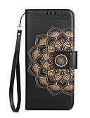 tanie Etui na telefony-Kılıf Na LG K8 LG LG K10 Etui na karty Portfel Flip Wzór Wytłaczany wzór Pełne etui Mandala Kwiaty Twarde Skóra PU na LG K10 (2017) LG K8