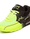cheap Quartz Watches-Women's Shoes PU(Polyurethane) Spring / Fall Comfort Athletic Shoes Flat Heel Orange / Green / Blue