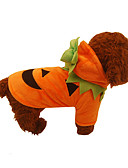 cheap Men's Tees & Tank Tops-Dog Costume / Christmas Dog Clothes Solid Colored Orange Plush Fabric Costume For Pets Cosplay / Halloween