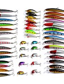 olcso Női ruhák-48 pcs Kemény csali / Minnow / Műcsali csomag Kemény csali / Minnow / Műcsali csomag Műanyagok Csalidobó / Pisztrángsügér horgászat / Csali horgászat / Villantós & Csónakos horgászat