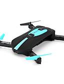 billige Hatter til herrer-RC Drone JY 018 4 Kanal 6 Akse 2.4G Med 720 P HD-kamera 2.0MP Fjernstyrt quadkopter En Tast For Retur / Hodeløs Modus / Flyr På Hodet Fjernstyrt Quadkopter / Fjernkontroll / 1 Ladestasjon