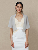 cheap Wedding Wraps-Chiffon Wedding Party / Evening Women's Wrap Shrugs