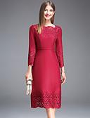 cheap Women's Dresses-JOJO HANS Women's Classic & Timeless Slim Sheath Dress - Solid Colored, Print