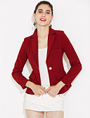 cheap Women's Blazers-Women's Work Blazer - Solid Colored