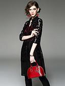 preiswerte Damen Overalls & Strampler-Damen Street Schick Bluse - Stickerei, Ausgehöhlt Gurt Rock