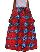 levne Dámské šaty-Dámské Cikánský Houpačka Sukně - Jdeme ven Dovolená Tisk