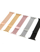 hesapli Moda İç Giyimler-Watch Band için Apple Watch Series 4/3/2/1 Apple Milan Döngüsü Paslanmaz Çelik Bilek Askısı