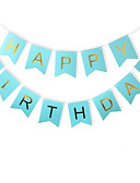 cheap Party Headpieces-Special Occasion / Anniversary / Birthday / New Baby / Birthday Party Material Card Paper Wedding Decorations Holiday Spring, Fall,