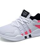 رخيصةأون ساعات رياضة-للرجال PU ربيع / خريف مريح أحذية رياضية المشي أحمر / أسود وأبيض / أسود / أحمر