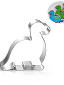 cheap Women's Pants & Leggings-Dinosaur Cookies Cutter Stainless Steel Biscuit Cake Mold Kitchen Baking Tools