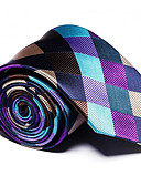 cheap Men's Ties & Bow Ties-Men's Party / Work / Basic Necktie - Striped