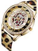cheap Quartz Watches-ASJ Women's Wrist Watch Japanese Quartz 30 m PU Band Analog Charm Fashion Silver / Gold - Gold Silver / Stainless Steel