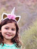 halpa Tyttöjen mekot-Lapset 34% Wool38% Cotton 28% Ramine Hiuskoristeet Rubiini / Punastuvan vaaleanpunainen / Fuksia Yksi koko / Hiukset Tie