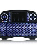 tanie Męskie marynarki i garnitury-ipazzport iPazzPort mini keyboard KP-810-21SD(Backlit ) Air Mouse Mini bezprzewodowa 2,4 GHz Bezprzewodowy Air Mouse Na Inne / Windows XP / Linux / WIN8