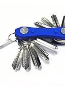 זול שעוני ילדים-מזכרות מחזיקי מפתחות / כלים אחרים / מחזיקי מפתחות עיצוב מיוחד, עם מחזיק מפתחות, קל להרכבה ל מחנאות / צעידות / טיולי מערות / שימוש יומיומי - פלדה טונגסטן / ABS 1 pcs