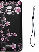 hesapli Cep Telefonu Kılıfları-Pouzdro Uyumluluk Asus Asus Zenfone 3 Max ZC520TL Temalı Arka Kapak Çiçek Yumuşak TPU