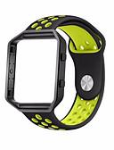 billige Korsetter-Klokkerem til Fitbit Blaze Fitbit Sportsrem Gummi Håndleddsrem