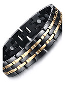 cheap Men's Hoodies & Sweatshirts-Men's Chain Bracelet / Bangles / Magnetic Bracelet - Titanium Steel Natural, Fashion Bracelet Black For Gift / Daily