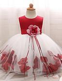 זול שמלות לבנות-שמלה כותנה ללא שרוולים פרח בנות תִינוֹק