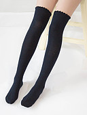 cheap Leggings-Women's Medium Stockings-Solid