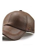 billige Hatter til herrer-Herre Aktiv / Ferie / Vandtæt Baseballcaps / Solhatt - Broderi, Ensfarget