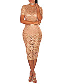 cheap Women's Nightwear-Women's Bodycon Dress - Solid Colored, Cut Out High Rise