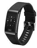 hesapli Dijital Saatler-Akıllı Bilezik iOS / Android Kalp Ritmi Monitörü / Kan Basıncı Ölçümü / Dokunmatik Ekran Kalp Atış Sensörü / Parmak sensörü Mor / Kırmzı / Mavi / Alarm Saati / Adım Sayaçları / OLED