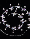 זול שמלות ערב-ריקוד בטן חגורה בגדי ריקוד נשים הצגה סגסוגת קריסטלים / אבנים נוצצות חגורה