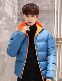 cheap Men's Hoodies & Sweatshirts-Men's Casual Cotton Color Block