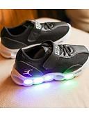 זול שמלות נשים-בנים נעליים PU סתיו נוחות נעלי ספורט ל שחור