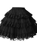 preiswerte Abendkleider-Klassische / Traditionelle Lolita Lolita Damen Minimantel Cosplay Weiß / Schwarz Kürzer Länge