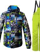 abordables Parkas y Plumas de Mujer-Hombre Chaqueta y pantalones de Esquí Resistente al Viento, Templado, Ventilación Esquí / Senderismo / Deportes Múltiples Poliéster Sets de Prendas Ropa de Esquí