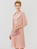 cheap Women's Coats & Trench Coats-3/4 Length Sleeve Chiffon / Satin Wedding / Party / Evening Women's Wrap With Split Joint Coats / Jackets