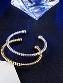 tanie Sukienki-Damskie Bransoletki bangle Bransoletki cuff - Vintage, Elegancja Bransoletki Złoty / Srebrny Na Ślub Zaręczynowy Codzienny