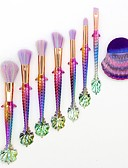 cheap Wedding Dresses-8pcs Makeup Brushes Professional Synthetic Hair Full Coverage Plastic