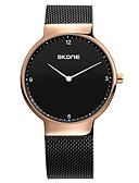 preiswerte Quartz-Damen Armbanduhr Chinesisch Chronograph Edelstahl Band Freizeit / Modisch / Elegant Schwarz / Silber / Rotgold / Sony 377