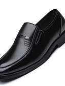 cheap Men's Sweaters & Cardigans-Men's Formal Shoes Microfiber Spring / Summer Loafers & Slip-Ons Black / Party & Evening