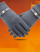cheap Gloves-Women's Winter Gloves Wrist Length Fingertips Gloves - Solid Colored