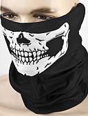 baratos Relógio Esportivo-ziqiao motocicleta máscara facial de caveira outdoor sport cycling bike moto mask