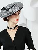 preiswerte Parykopfbedeckungen-Seide / Twill-Webart Hüte mit 1 Hochzeit / Party / Abend Kopfschmuck