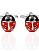 cheap Men's Exotic Underwear-Animal Red Cufflinks Copper Animals Men's Costume Jewelry For Carnival