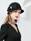 billige Hatter til damer-Ull Hatter med 1 Spesiell Leilighet / Fest / aften Hodeplagg
