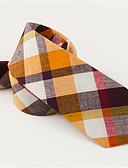 cheap Men's Ties & Bow Ties-Men's Cotton Necktie - Jacquard
