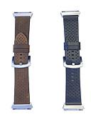 זול להקות Smartwatch-צפו בנד ל Fitbit ionic פיטביט אבזם מודרני עור אמיתי רצועת יד לספורט