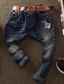 preiswerte Hosen für Jungen-Kinder / Baby Jungen Muster Baumwolle Hose