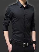 זול חולצות לגברים-אחיד עסקים חולצה-בגדי ריקוד גברים