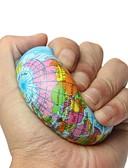 זול מכנסיים ושורטים לגברים-LT.Squishies Earth Globe Planet World Map כדורים קופצניים / צעצוע מעיכה כדורי קֶצֶף 1pcs אופנתי יוניסקס מתנות