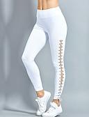 abordables Leggings para Mujer-Mujer Deportivo Legging-Un Color,Ahuecado Deportivo Elegante