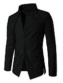 זול גברים-ג'קטים ומעילים-אחיד עומד בלייזר - בגדי ריקוד גברים, גדול