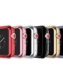 Недорогие Чехол для умных часов-яблоко часы силиконовый бампер чехол защитная крышка для яблока смотреть 3 серии 1 2 38 мм 42 мм